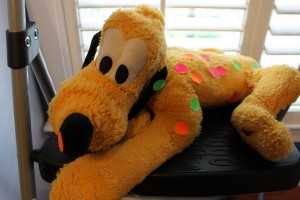 Spotted Pluto
