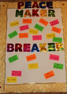 Peace Maker and Breaker - Rules Chart