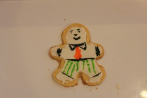Flat Stanley Cookie