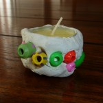 Clay Candle