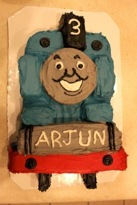 Thomas Cake for Arjun's 3rd Birthday