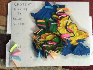 Kabir's model of Eastern Europe