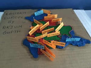 Arjun's model of Eastern Europe