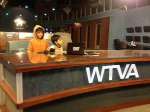 News Desk at WTVA