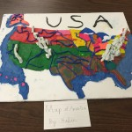 Landscape model of USA  by Kabir