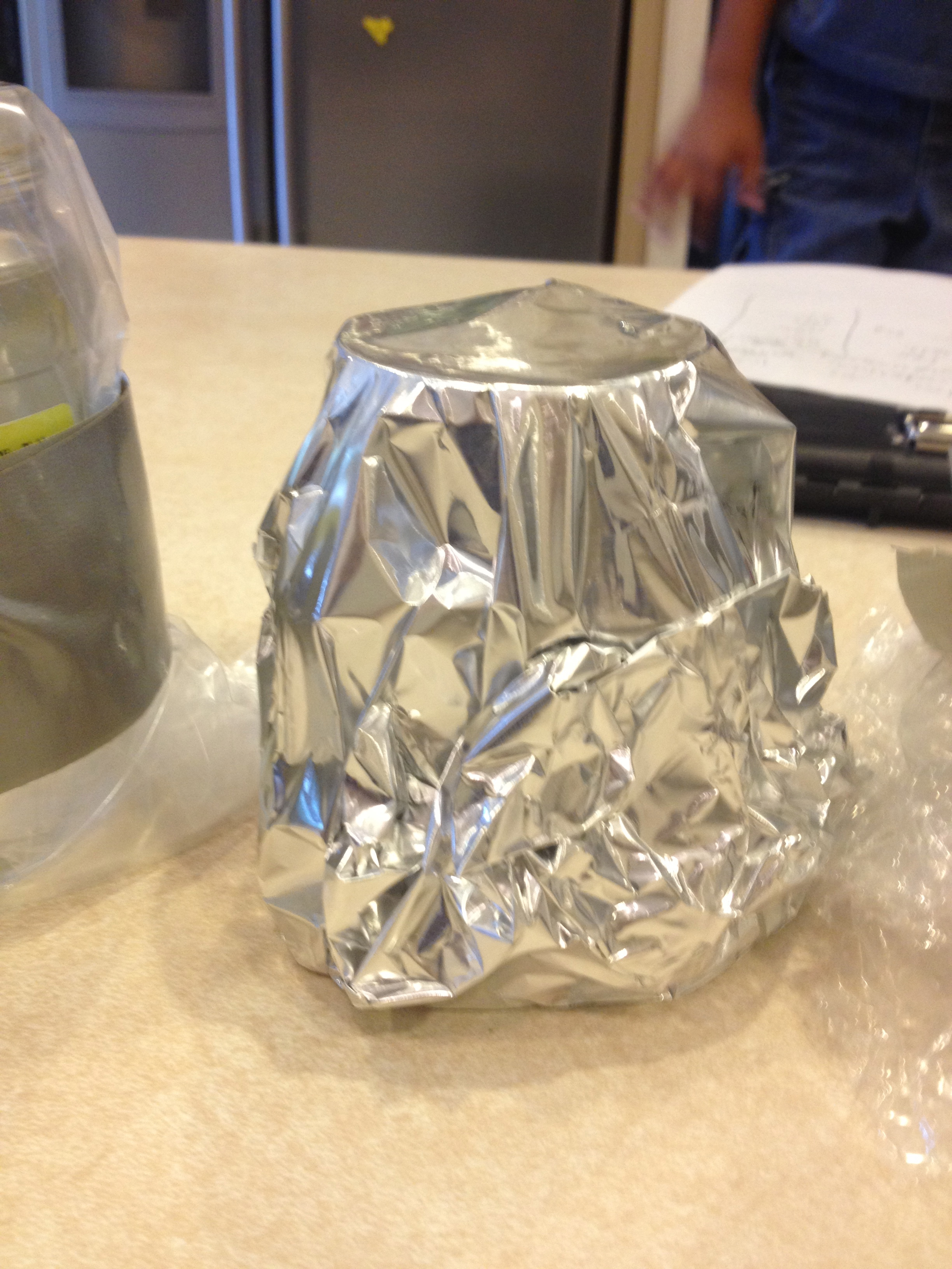 Tin Foil Conductor : Conductor or insulator science experiment « shruti gupta