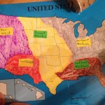 Map showing different Native American regions