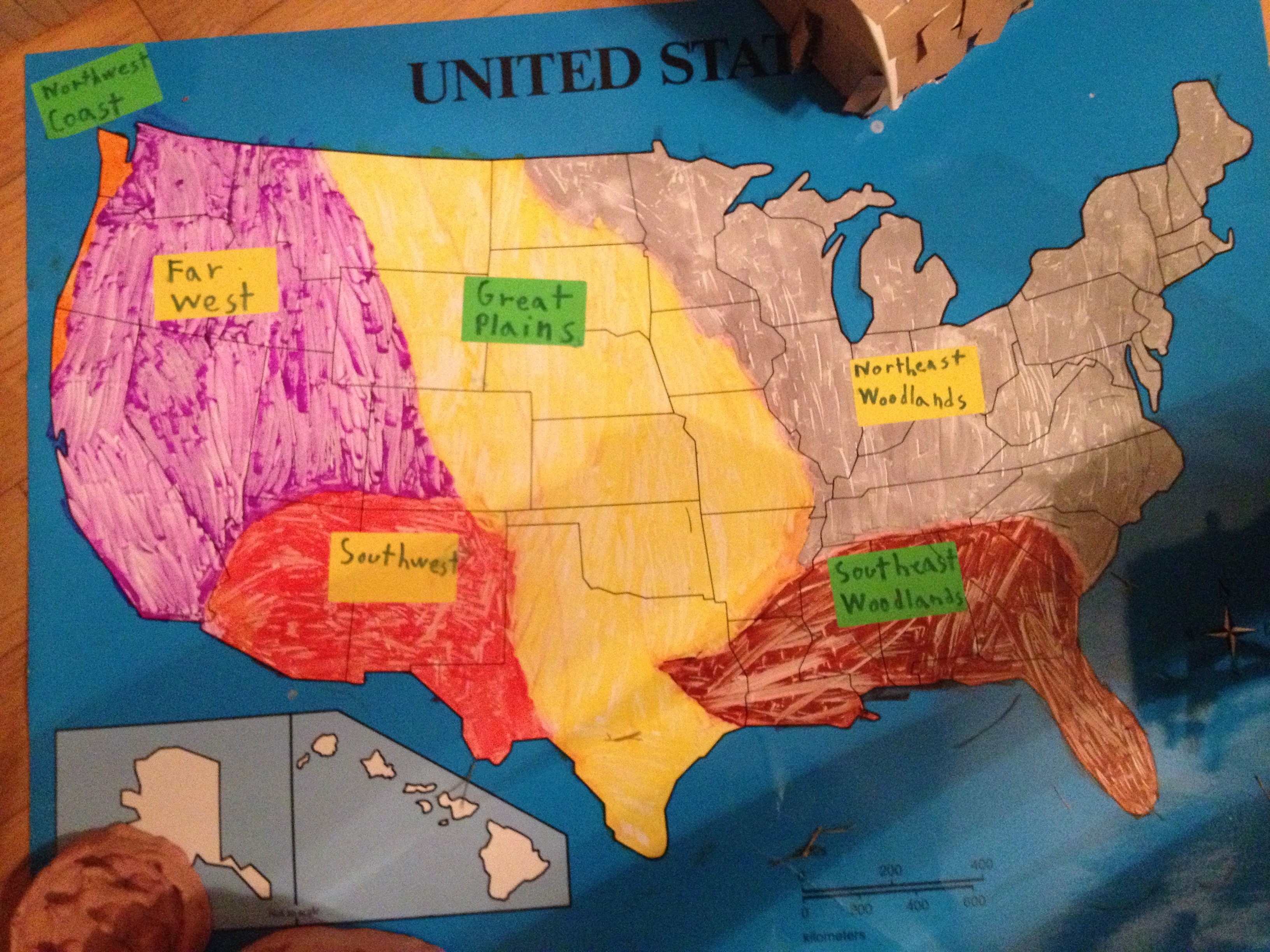 MAP How Climate Change Threatens Americas Energy Infrastructure - Us four regions map