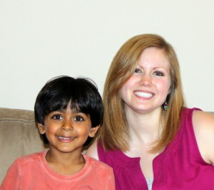 Carrie Ann and Kabir