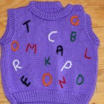 Alphabet Sweater