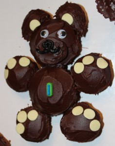 Bear Cupcake