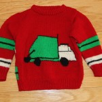 Trash Truck Sweater